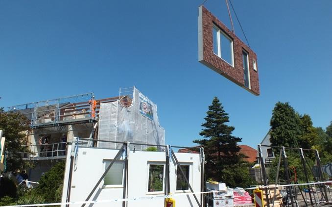 Muren vervangen tijdens RenovatiePlus