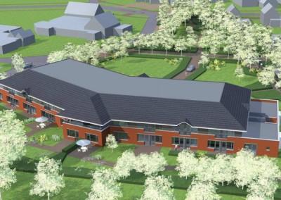 Nieuw onderkomen Stichting Sprank: Zorgcomplex Vlasakkerkamp