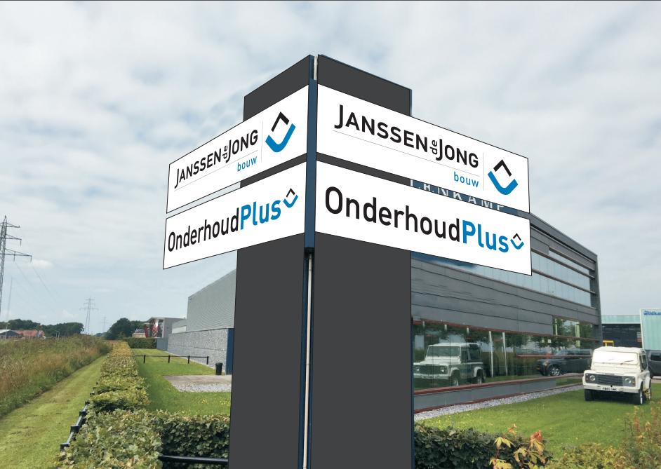 Nieuw pand Janssen de Jong Hardenberg en OnderhoudPlus