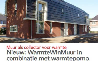 WarmteWinMuur in combinatie met warmtepomp