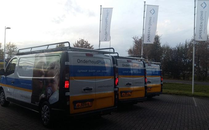 Nieuwe bussen voor OnderhoudPlus