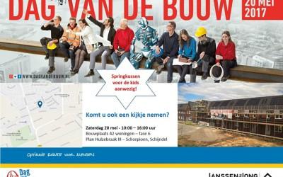 Janssen de Jong opent fase 6 van Hulzebraak III tijdens de Dag van de Bouw