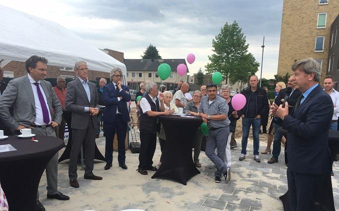 Officiële opening Kerkhofweg Venlo-Zuid