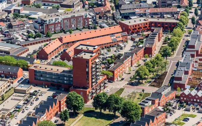 Artikel Stedenbouw over Groeseind in Tilburg