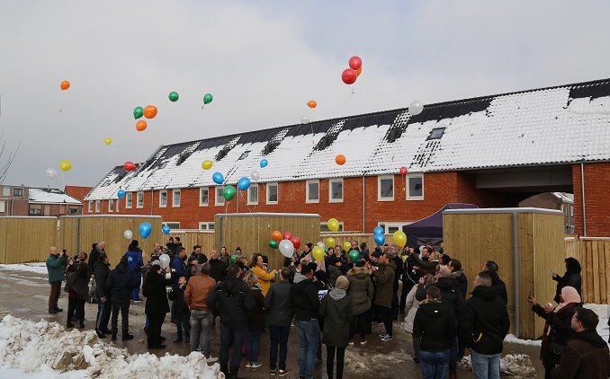 Janssen de Jong levert 57 huurwoningen op in Rosmolen Tilburg