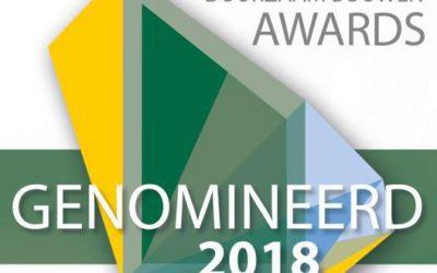 Geerpark Vlijmen genomineerd voor Duurzaam Bouwen Award