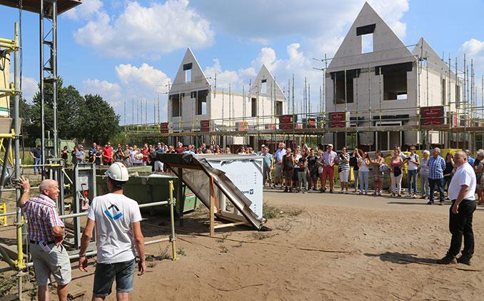 Hapert: feestelijk hoogste punt in plan Wijerspark