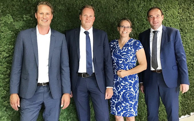 Janssen de Jong Groep stelt nieuwe directieleden aan voor het cluster Projectontwikkeling & Bouw