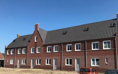 Eerste woningen 'de Afhang' fase 3 Horst opgeleverd!