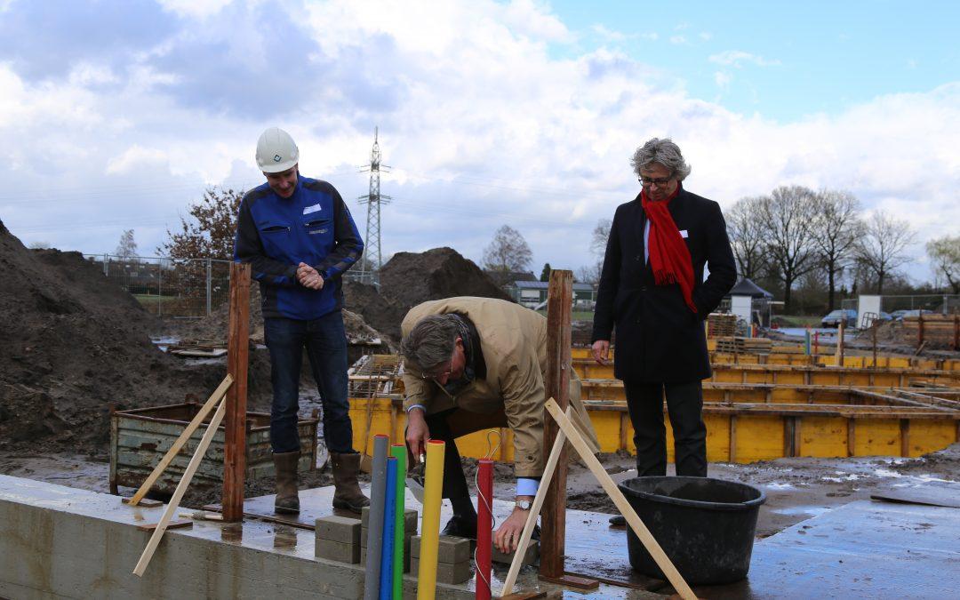Officiële start bouw woningen in De Bulders in Heeze