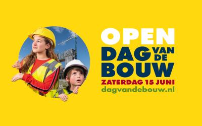 Janssen de Jong Bouw opent 3 bouwplaatsen tijdens Dag van de Bouw