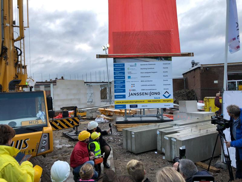 Officiële start bouw IKC Zuidwest in Wezep