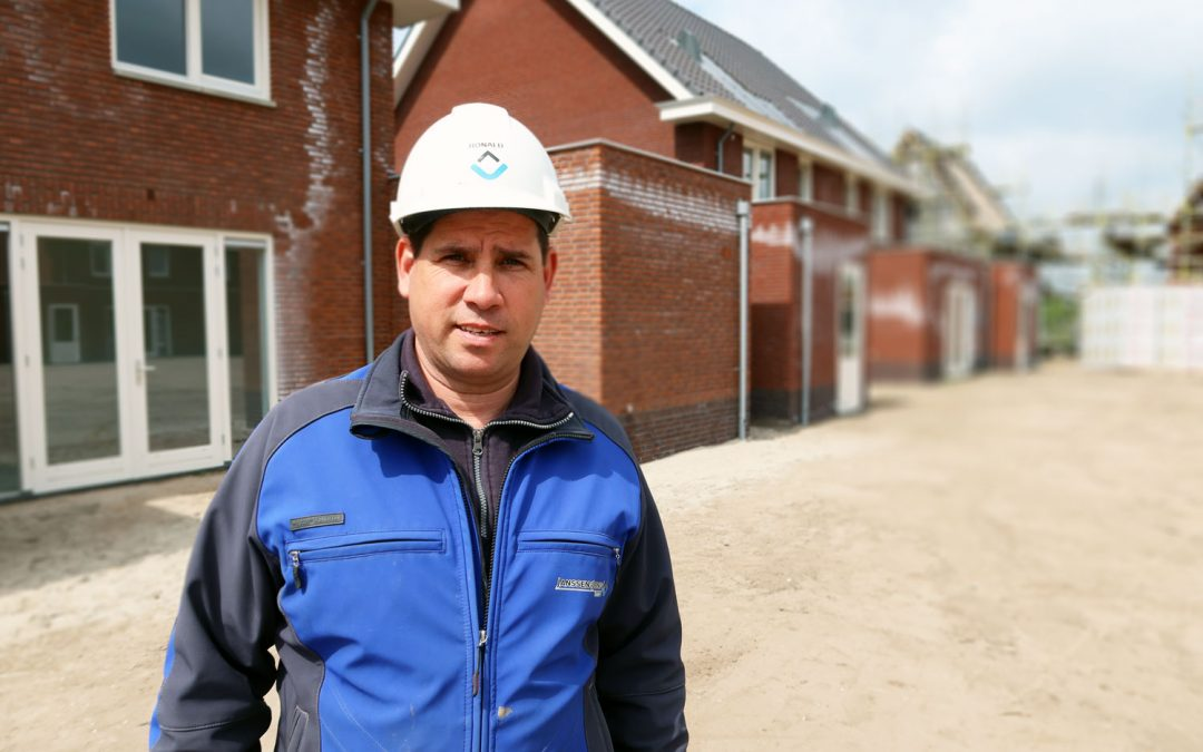 #doorbouwers: een kijkje op de bouwplaats bij uitvoerder Ronald