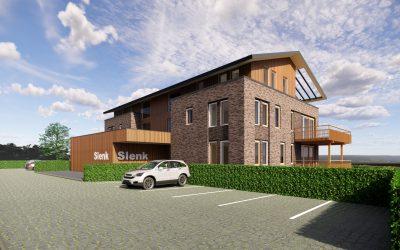 Janssen de Jong Bouw bouwt 24 appartementen aan het water in Delfzijl