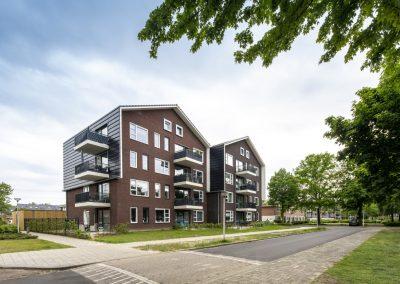 Enschede – Duette: een moderne compositie van stadse architectuur