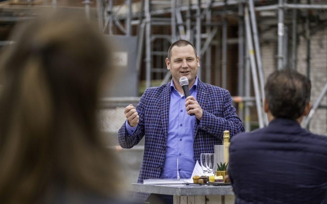 Proost op succesvolle start bouw Hartje de Lanen in Rosmalen