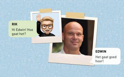 Even appen met…woonconsulent Edwin!
