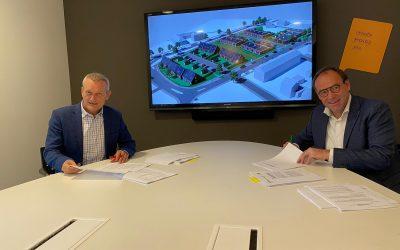 Janssen de Jong Bouw tekent overeenkomst met Wonen Zuid