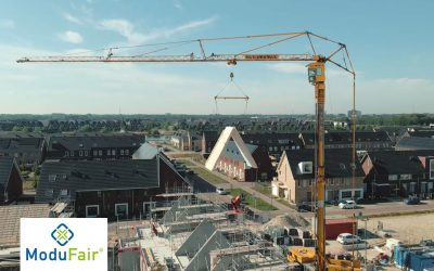 Projectfilm Hartje de Lanen, eerste project in ModuFair