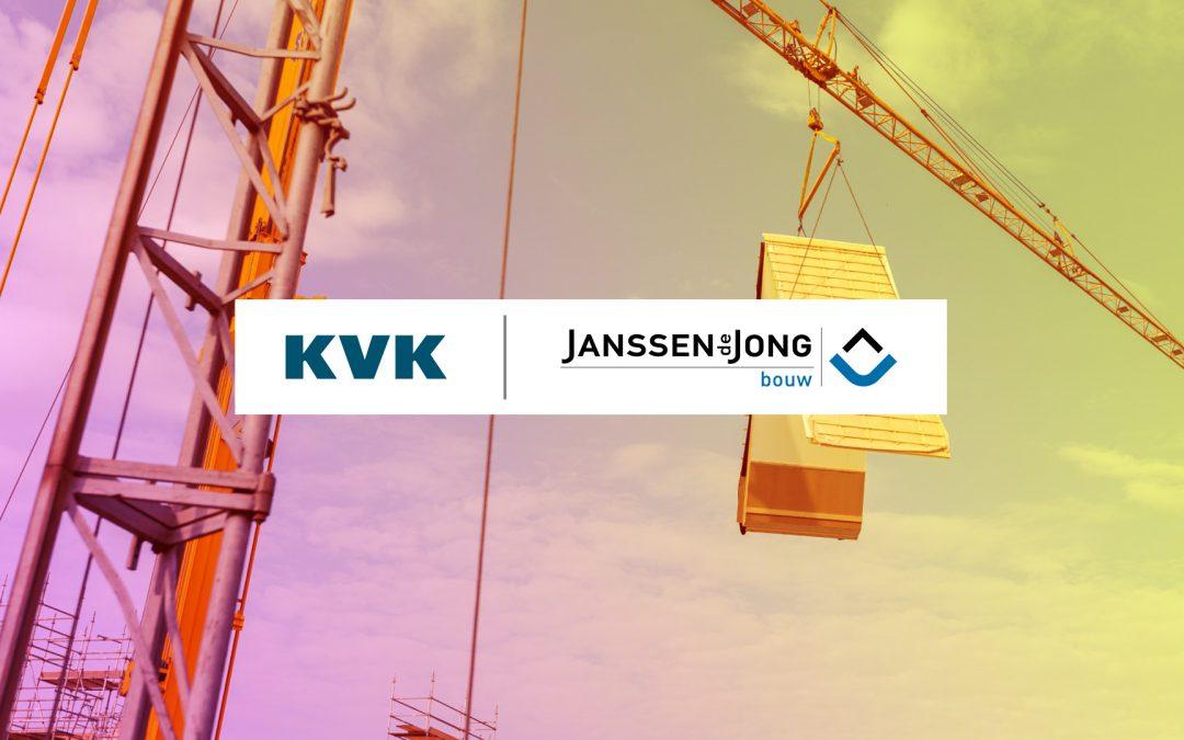 Janssen de Jong Bouw participeert in KVK Business Challenge