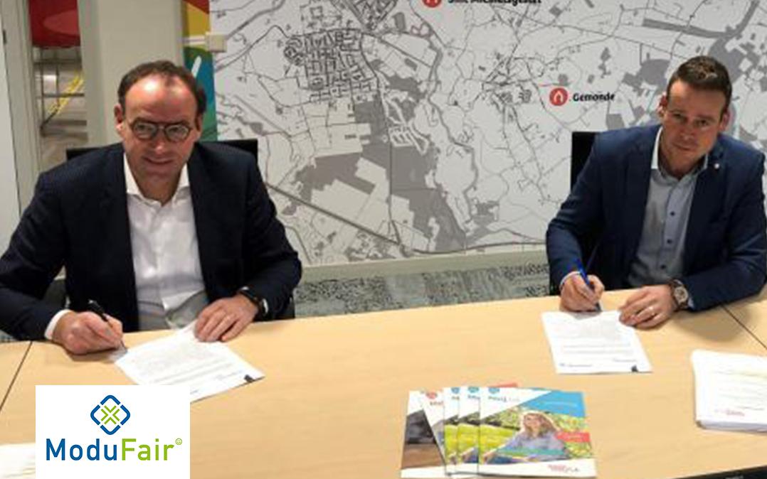 Woonmeij bouwt 23 sociale huurwoningen Seringenlaan en Meidoornstraat Sint-Michielsgestel
