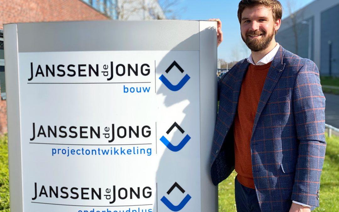Alexander van Dijk versterkt commerciële team Janssen de Jong Bouw Oost